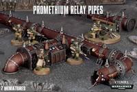 Warhammer 40,000 Promethium Relay Pipes