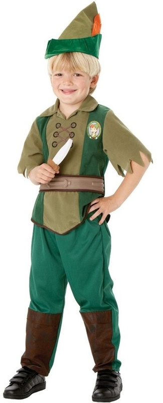 Disney: Kids Peter Pan Costume (Large)