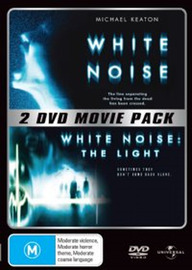 White Noise / White Noise The Light - 2 DVD Movie Pack (2 Disc Set) on DVD image