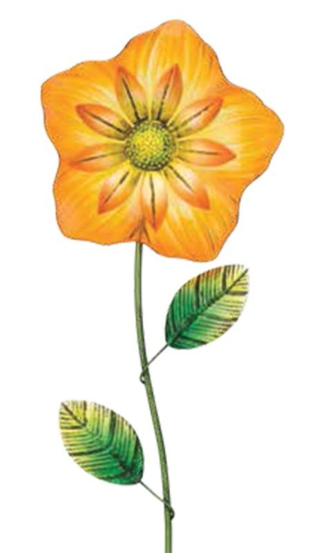 Regal Art & Gift: Fiesta Flower Stake - Yellow