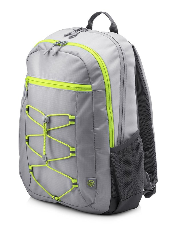 "HP 15.6"" Active - Laptop Backpack (Grey/Green)"