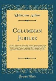 Columbian Jubilee by Unknown Author image