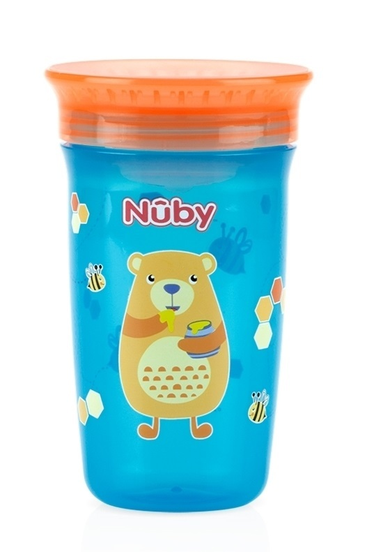 Nuby: No Spill - 360 Wonder Cup (Assorted Designs)