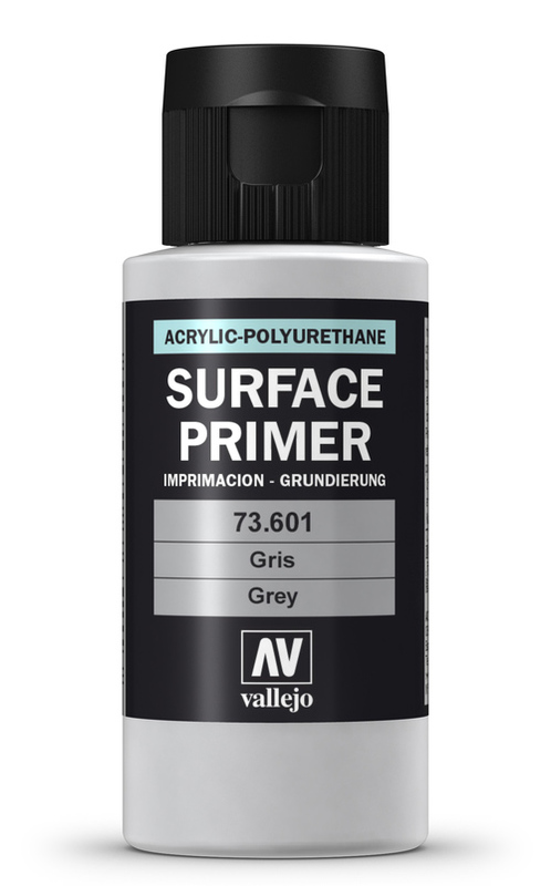Vallejo Primer Acrylic Grey 60ml