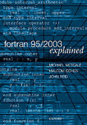 Fortran 95/2003 Explained by Michael Metcalf