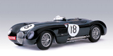 AUTOart 1:18 Jaguar C-Type Winner 1953 #18 (Racing Green) Diecast Model