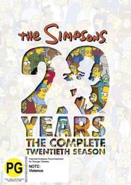 The Simpsons - Season 20 on DVD
