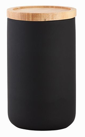 General Eclectic Tall Canister - Matte Black