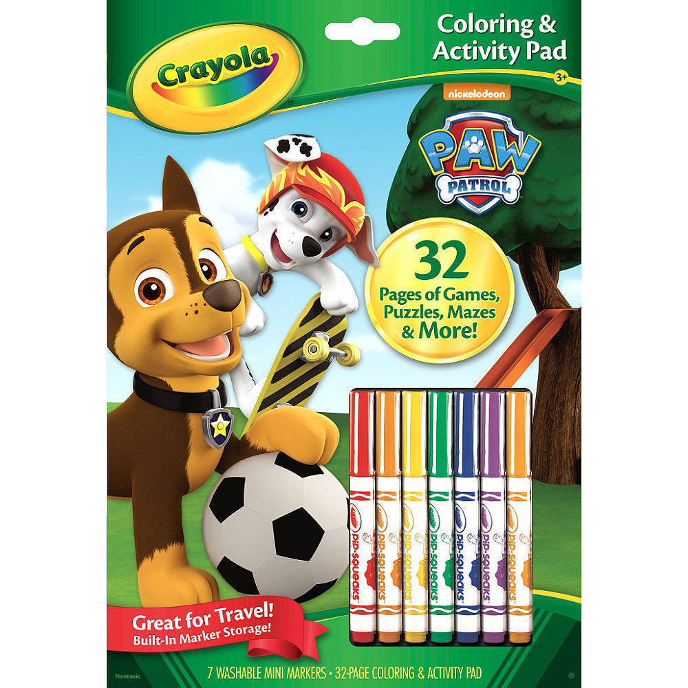 Crayola: Paw Patrol Colouring & Activity Pad image