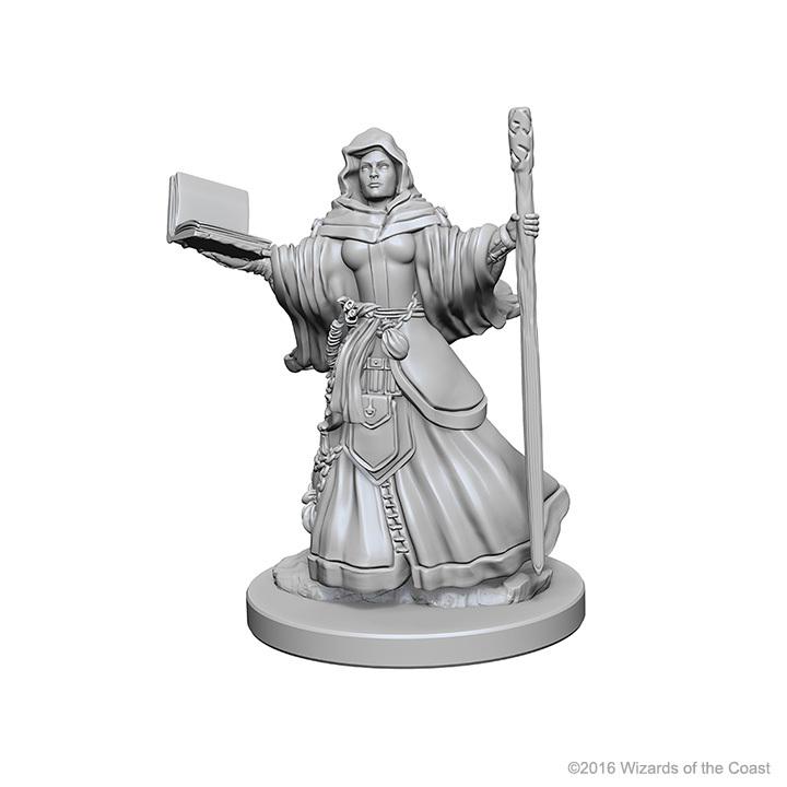 D&D Nolzurs Marvelous: Unpainted Minis - Human Female Wizard image