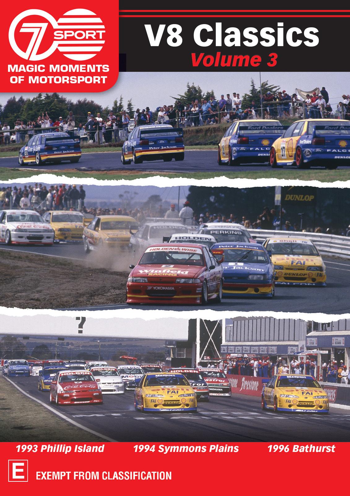 Magic Moments Of Motorsport: V8 Classics Volume 3 on DVD image