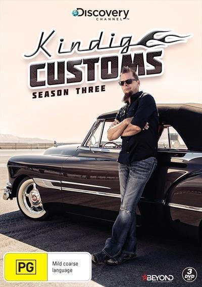 Kindig Customs - Season Three on DVD image