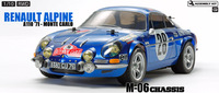 Tamiya: 1/10 M-06 Renault Alpine (M06 Monte Carlo) - RC Model Kit