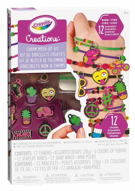 Crayola: Creations - Neon Charm Mash Up Kit