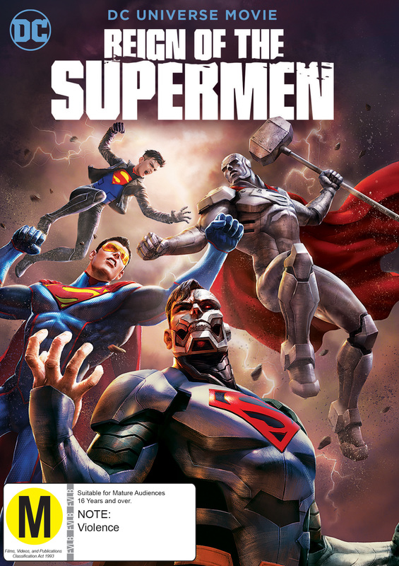 Reign of the Supermen on DVD
