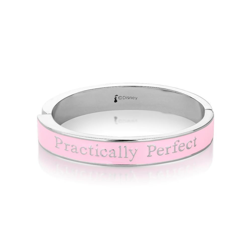 Disney: Mary Poppins Practically Perfect Bangle - White Gold image