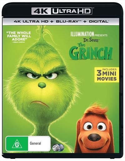 The Grinch on UHD Blu-ray