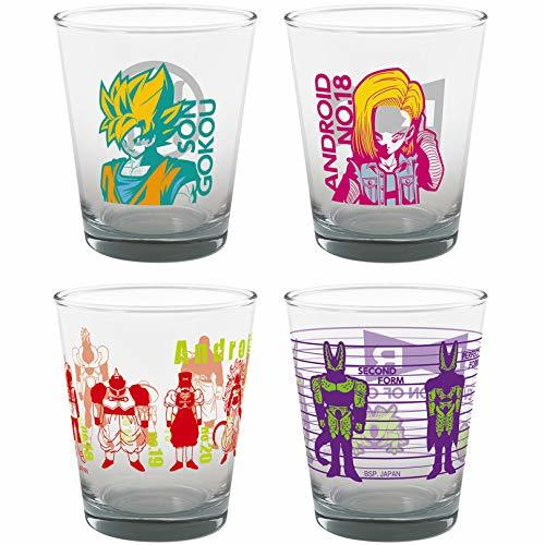 Dragon Ball FighterZ: The Android Battle Shot Glass (Assorted)