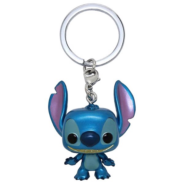 Lilo & Stitch - Stitch Metallic Pocket Pop! Keychain