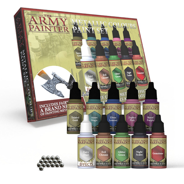 Army Painter: Warpaints - Metallic Colours Paint Set