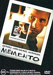 Memento on DVD
