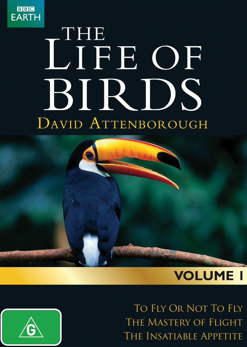 David Attenborough's Life of Birds - Volume 1 on DVD image