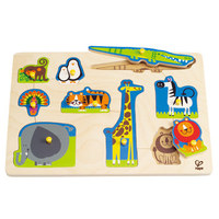Hape: Wild Animals Peg Puzzle