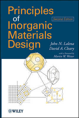 Principles of Inorganic Materials Design by John N Lalena