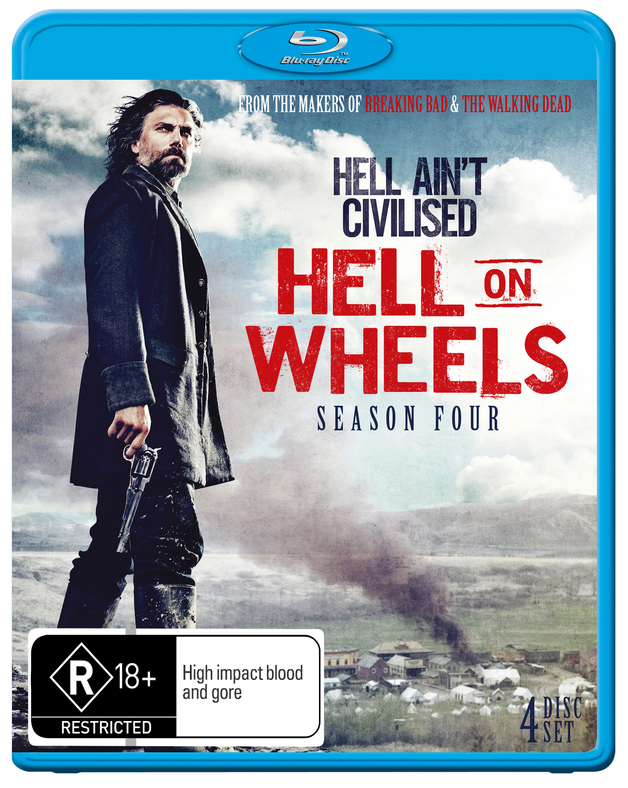 Hell On Wheels - The Complete Fourth Season on Blu-ray