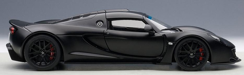 Autoart: 1/18 Hennessey Venom GT (Carbon Black) image