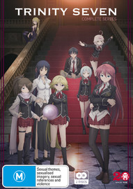 Trinity Seven - Complete Series on DVD
