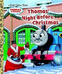 Thomas' Night Before Christmas (Little Golden Book) by R Schuyler Hooke