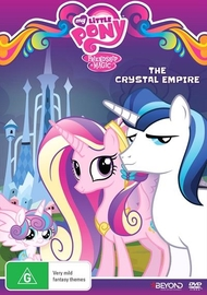 My Little Pony: Friendship Is Magic: The Crystal Empire on DVD image