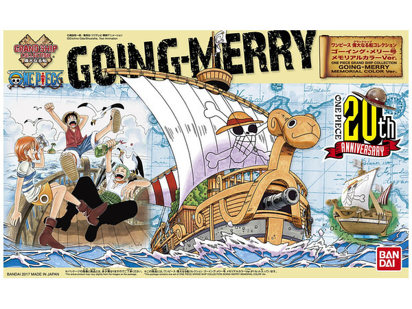 One Piece: Going Merry (Memorial Color Ver.) - Model Kit