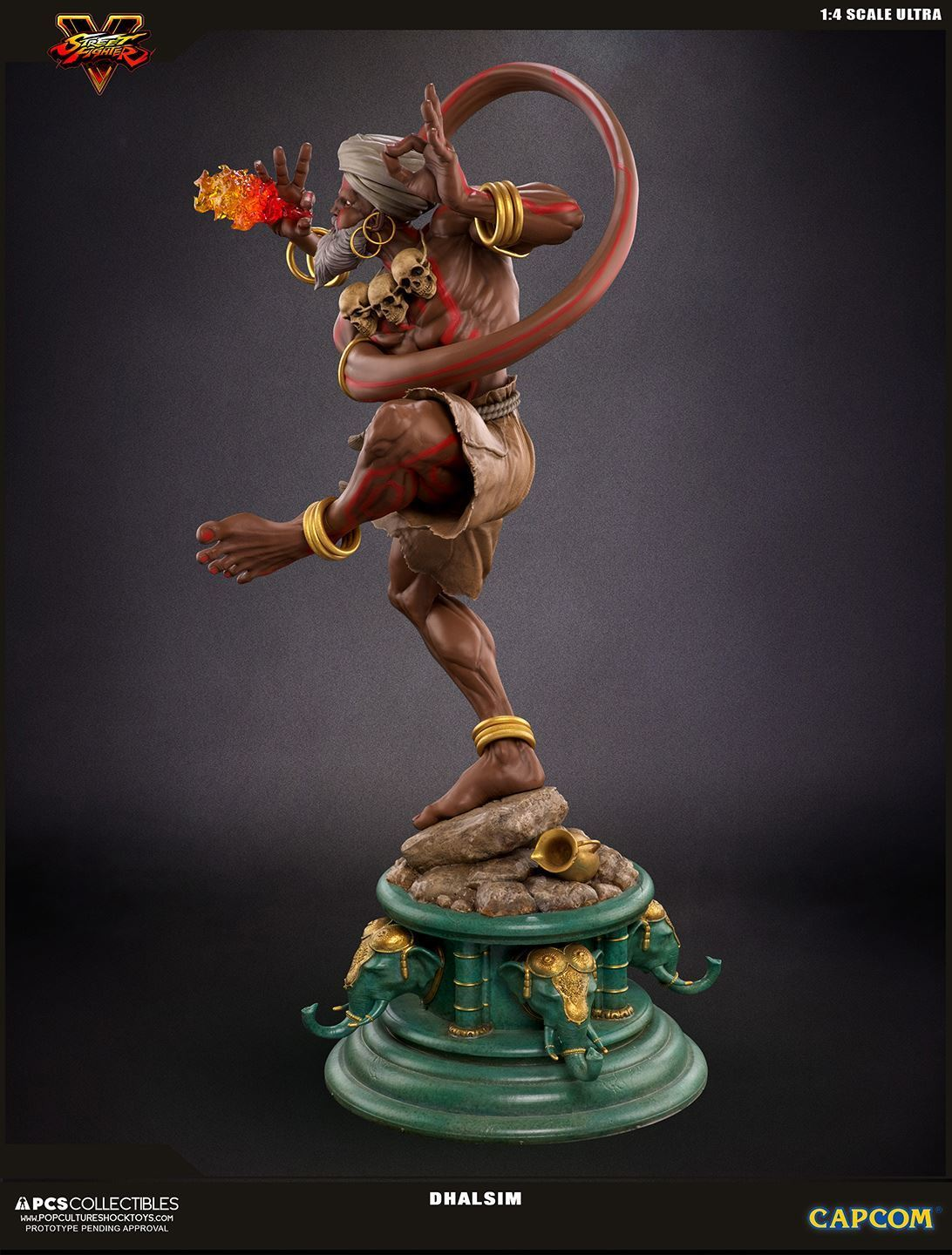 Streetfighter V - Dhalsim 1:4 Scale Statue image