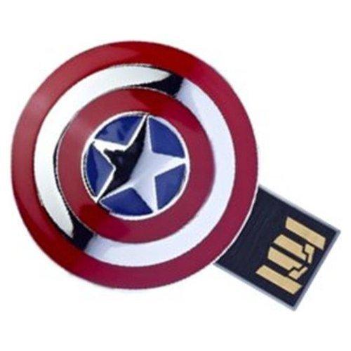 8GB Marvel Avengers Captain Americas Shield USB Flash Drive