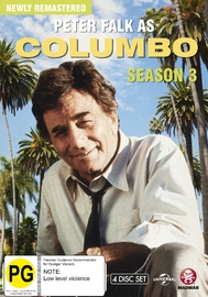 Columbo - Complete Remastered Season Three (4 Disc Set) on DVD