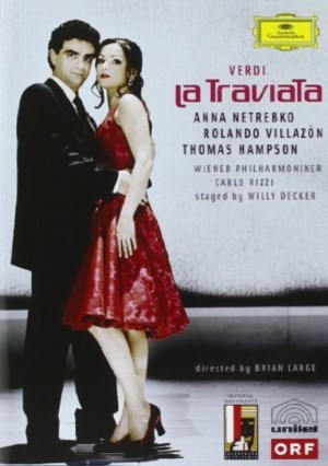 Verdi: La Traviata (complete opera recorded in 2005) on DVD image