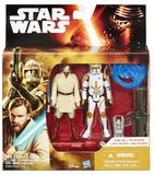"Star Wars: 3.75"" Obi Wan Kenobi & Clone Commander Cody Figure 2-Pack"