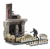 The Walking Dead - Jersey Barriers & Sand Bags Building Set