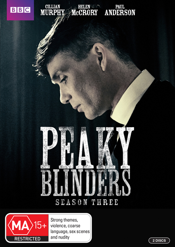 Peaky Blinders - The Complete Series 3 on DVD