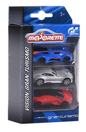 Majorette: Vision Gran Turismo Diecast Car 3-Pack (Assorted)