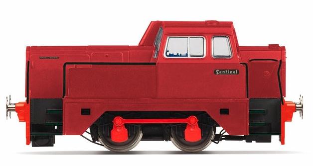 Hornby: Sentinel 0-4-0 'Graham'