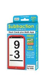 Subtraction 0-12 Flash Cards by Alex A Lluch