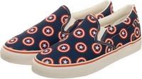 Marvel Captain America Unisex Deck Shoes (Size 10)