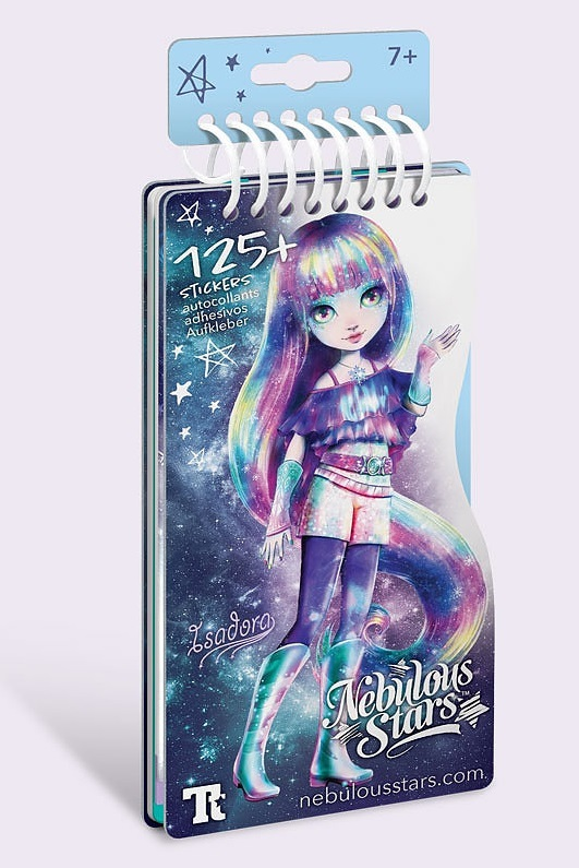 Nebulous Stars: Mini Creative Pad - Isadora image