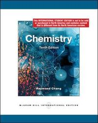 Chemistry by Raymond Chang image