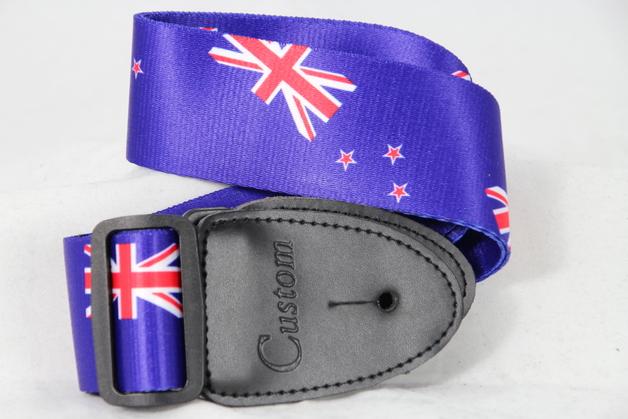 New Zealand Flag Guitar Strap