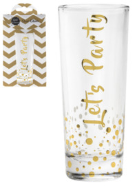 Nibble: Lets Party - Shot Glass