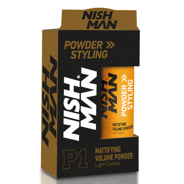 Nishman: Hair Styling Wax Powder (20g)
